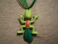 Pokemon Treecko Figure Charm Anime Necklace Gift Collectible Jewelry