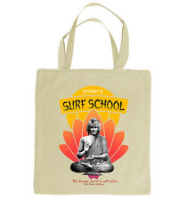 BODHI'S SURF School tote bag. Inspired by the 1991 film Point Break. 100% cotton