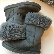 Ugg Boots Classic Tall Gray Sz 7 Suede