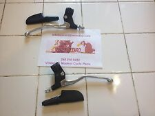 Magura Lever SET Brake & Clutch Maico Penton KTM Husqvarna W/Covers NEW!