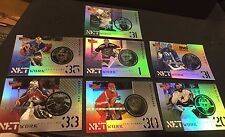 1999-00 UD Ultimate Victory LOT of 7 NETWORK Inserts Foil No Dups ROY Near SET!!