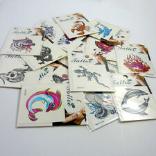 Unisex temporary tattoo 12-pack Job Lot Tribal Cross Dragon