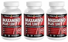 Help Build Up More Muscle - MAXAMINO PLUS 1200 - Post Workout Pills (3B 540 Tab)