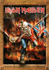 IRON MAIDEN 2009 SOMEWHERE BACK IN TIME TOUR CONCERT POSTER PROGRAM / NMT 2 MINT