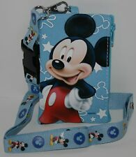 Disney Mickey Mouse Lanyard Blue
