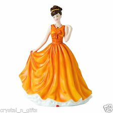 Royal Doulton November Topaz Birthstone Petite Figurine BRAND NEW