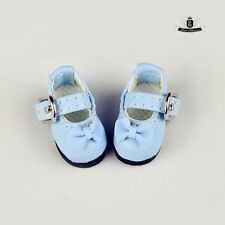 1/12 BJD Shoes LATI Shoes Tiny Blue bow Shoes Dollfie DREAM DIM DOD AOD DZ 2.8cm