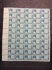 #978 Gettysburg Address  Full sheet of 50  MNH OG