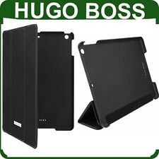 Genuine HUGO BOSS LEATHER FLIP CASE Apple iPad Air tablet original book cover