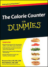 THE CALORIE COUNTER For Dummies by Rosanne Rust Paperback Book Free Shipping BB