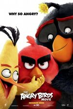 Angry Birds Advance B Double Sided Orig Movie Poster 27x40