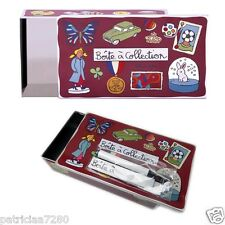 BOITE DE RANGEMENT A COLLECTION + MAGNETS - VALERIE NYLIN DLP DERRIERE LA PORTE