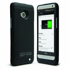 HTC One M7 801e Extended Battery Power Bank Pack External Charger Case/Cover New