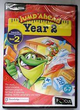 JUMP AHEAD YEAR 2 NATIONAL CURRICULUM PC CD-ROM AGES 6-7 brand new & sealed UK