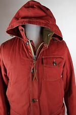 J Crew Sporting Goods Mens Jacket Size Small Red Cotton