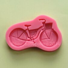 Bicycle / Bike silicone mold for fondant, chocolate, decorating molds, clays