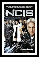 NCIS AUTOGRAPHED SIGNED & FRAMED PP POSTER PHOTO