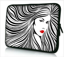 "17-17,3"" LAPTOP SLEEVE CARRY CASE BAG 4 ALL LAPTOPS, FREE POST *LADY HAIR*"