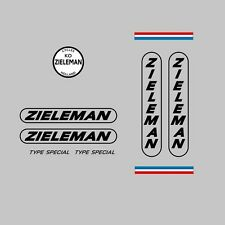 Zieleman Type spécial bicycle decals, transferts, stickers-n.21