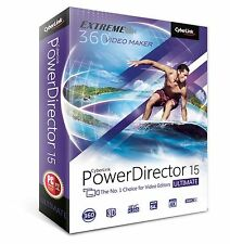 Cyberlink PowerDirector 15 Ultimate-creativo creación de películas (PC) PC DISCO