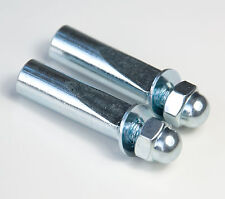 Pair of Continental 9mm Replacement Cotter Pins For Cottered Cranks Chainsets