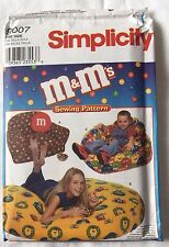 SIMPLICITY 9007 SEWING PATTERN ARMCHAIR BEANBAG CHAIR M&M