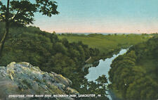 Lancaster PA * Conestoga From Indian Rock Williamson Park ca. 1908