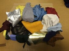 1 Kg Vibrant Mixed Colours Genuine Leather Off Cuts / Scraps / Remnants/ Pieces