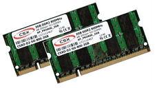 2x 2GB 4GB Speicher Ram DDR2 667 Mhz Acer Notebook Aspire 5920G 5930 6530