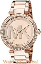 Michael Kors Women's Parker MK5865 Rose-Gold Stainless-Steel Quartz Watch