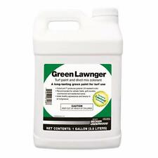 Green Lawnger colorant for turf lawn paint 1 Gallon