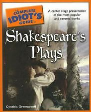 The Complete Idiot's Guide to Shakespeare's Plays (Complete Idiot's-ExLibrary