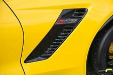 Corvette Stringray C7 Z06 Supercharged Side Emblem -Passenger Side