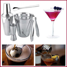 APOLLO Stainless Steel Cocktail Shaker Set Bar Drink Mixer Bartender Accessories