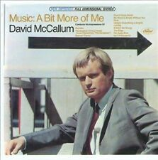 Music - A Bit More Of Me by David McCallum (CD, Apr-2011, Get On Down)