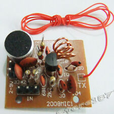 New DIY Electronic learning kit wireless microphone DIY PCB