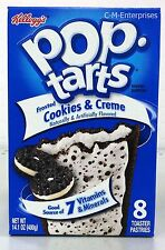 Kellogg's Pop Tarts Frosted Cookies & Creme Toaster Pastries 14.1 oz
