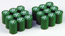 HO 1/87 Classic Metal Works # 20217 - 55-Gallon Oil Drums Texaco (2) Truck Load