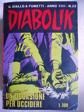 DIABOLIK anno XVII n°23  [G311]