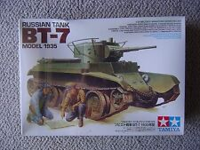 Tamiya 1/35 Soviet BT-7 model 1935 light tank