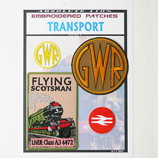 GREAT WESTERN RAILWAY GWR / FLYING SCOTSMAN Railway Patch Collection #S065