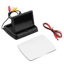4.3'' LCD TFT Foldable Color Monitor Screen For Car Reverse Rearview Camera JL