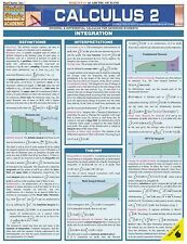 Laminated Wall Hanging Chart Calculus 2 Integral & Differential Calculus