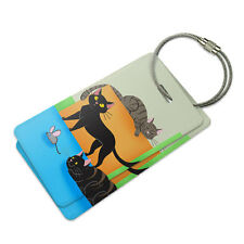 Cat Caboodle Suitcase Bag ID Luggage Tag Set