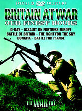 BRITAIN AT WAR ~ OUR FINEST HOURS ~ BRAND NEW SEALED 3 DVD SET * WORLD WAR TWO
