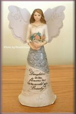 DAUGHTER ANGEL FIGURINE 6.5 INCHES BY PAVILION ELEMENTS FREE U.S. SHIPPING