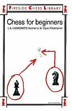 Chess For Beginners, Israel A. Horowitz, Sol Horowitz, Good Book
