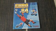 Panini Euro 84 France Football album EM 1984 complete scores filled in