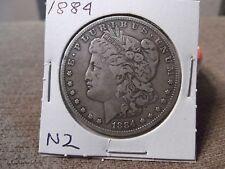 1884 Silver Dollar Fine (N2)