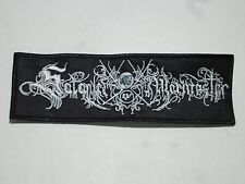 SATANIC WARMASTER BLACK METAL EMBROIDERED PATCH